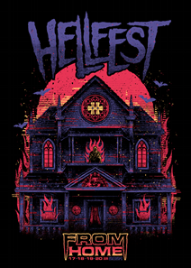 affiche officielle du hellfest home 2021